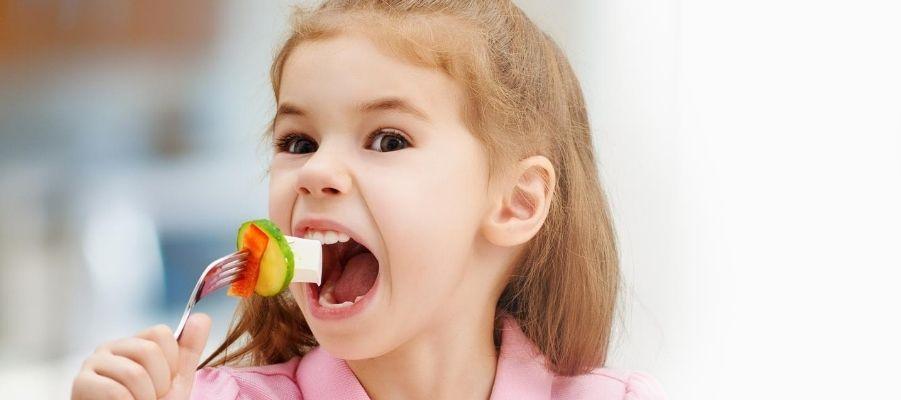 אכילה בררנית לילדים